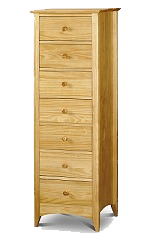 Kendal 7 Drawer Narrow Chest