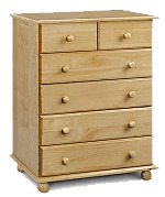 Pickwick 4 + 2 Drawer Chest