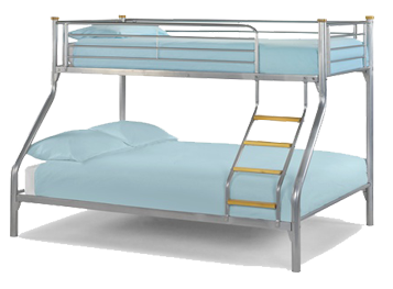 Atlas Triple Sleeper Bunk – By Julian Bowen