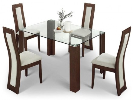 Mistral Glass Dining Set